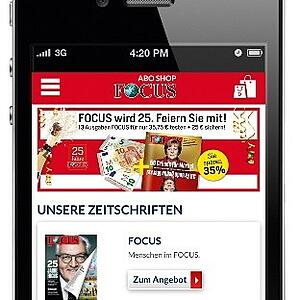 mobile first: Erfolg mit konsequentem Re-Design der Abo-Shops