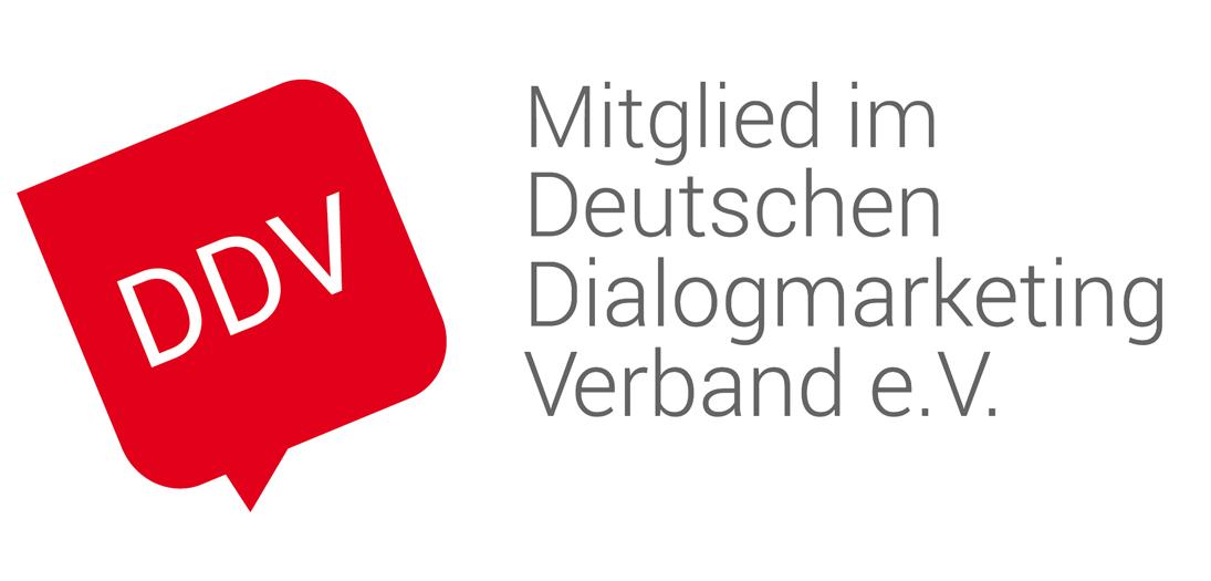 DDV Mitglied im Deutschen Dialogmarketing Verband e.V.