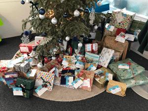 Weihnachtsglück verschenkt